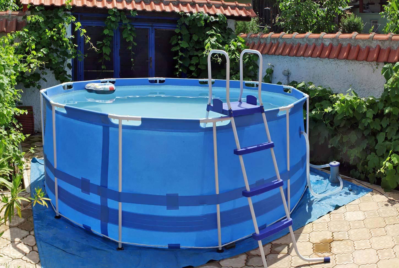 Как сделать небольшой бассейн на даче своими руками